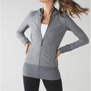 Lululemon Daily Practice Jacket Gray 8